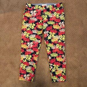 Banana Republic Floral Pattern Slacks